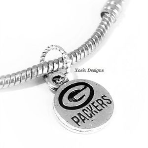 European Greenbay Packers Charm Bead Pendant